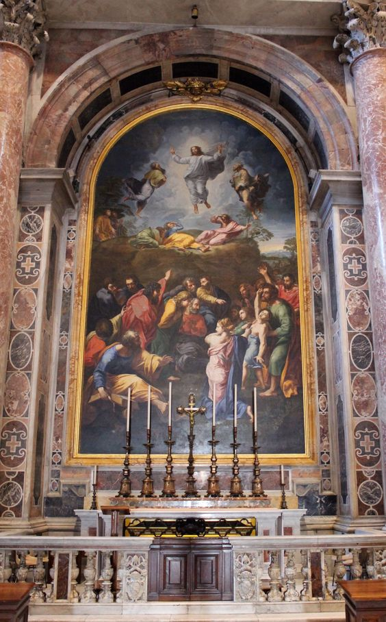 Altar of the Transfiguration, St Peter's Basilica, Rome