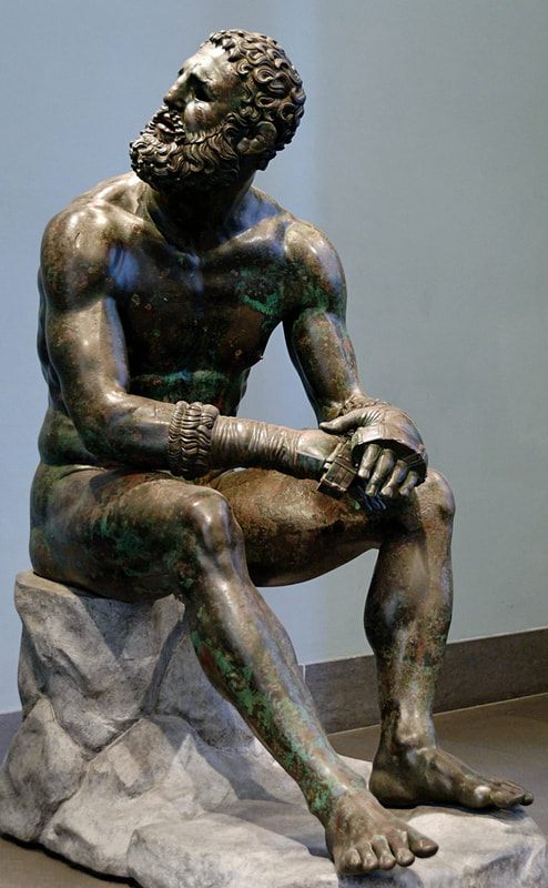 The Boxer at Rest, Palazzo Massimo alle Terme, Rome