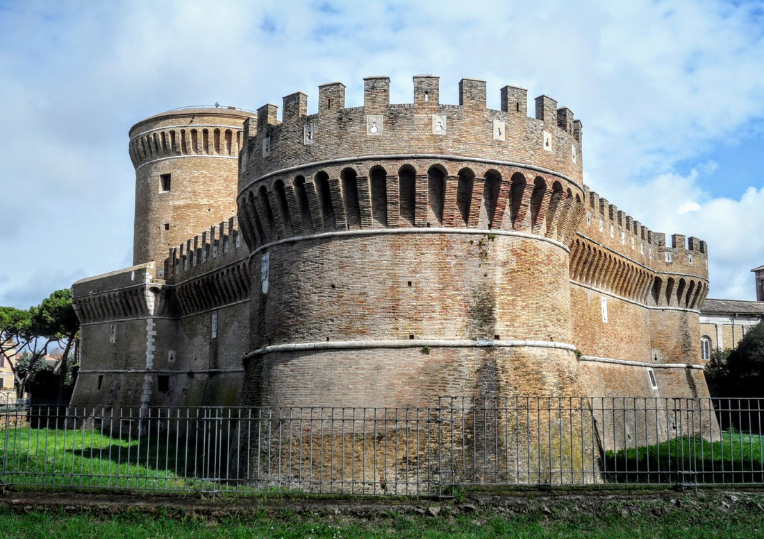 Castle of Pope Julius II, Ostia Antica, Rome