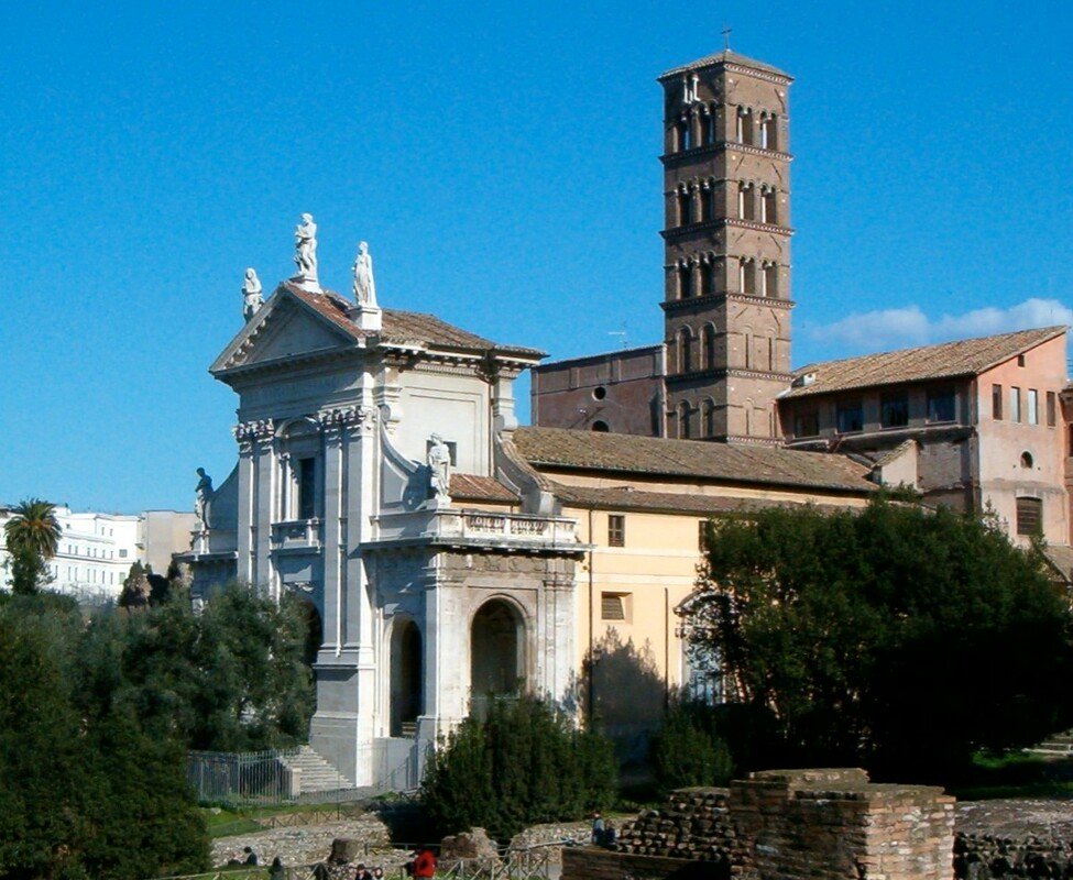 The church of Santa Francesca Romana, Rome