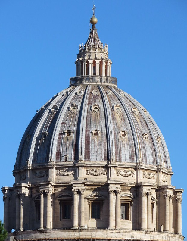 Dome of St Peter's Basilica, Rome