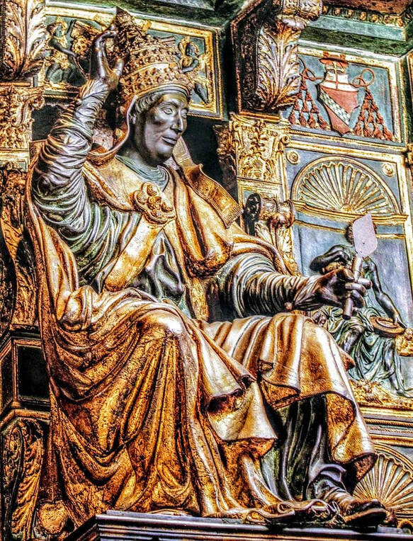 Funerary monument of Pope Innocent VIII, St Peter's Basilica, Rome