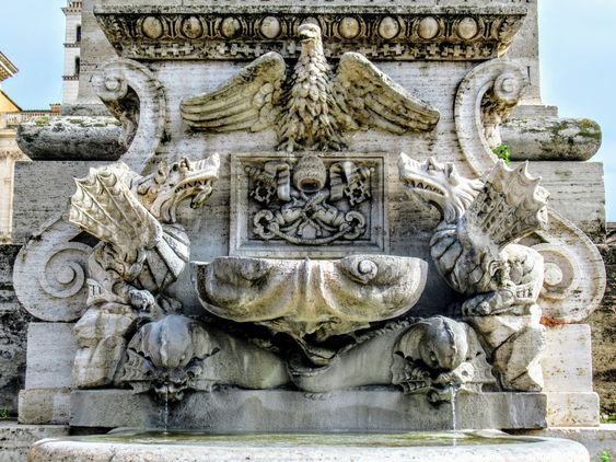 Fountain of the Lateran Obelisk, Rome