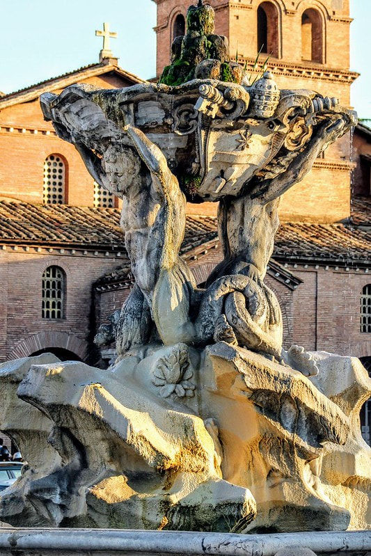Fountain of the Tritons (Fontana dei Tritoni), Rome
