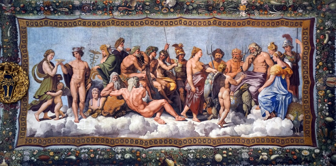 Council of the Gods, Villa Farnesina, Rome