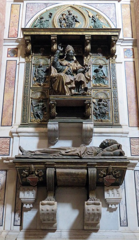 Funerary monument of Pope Innocent VIII, St. Peter's Basilica, Rome
