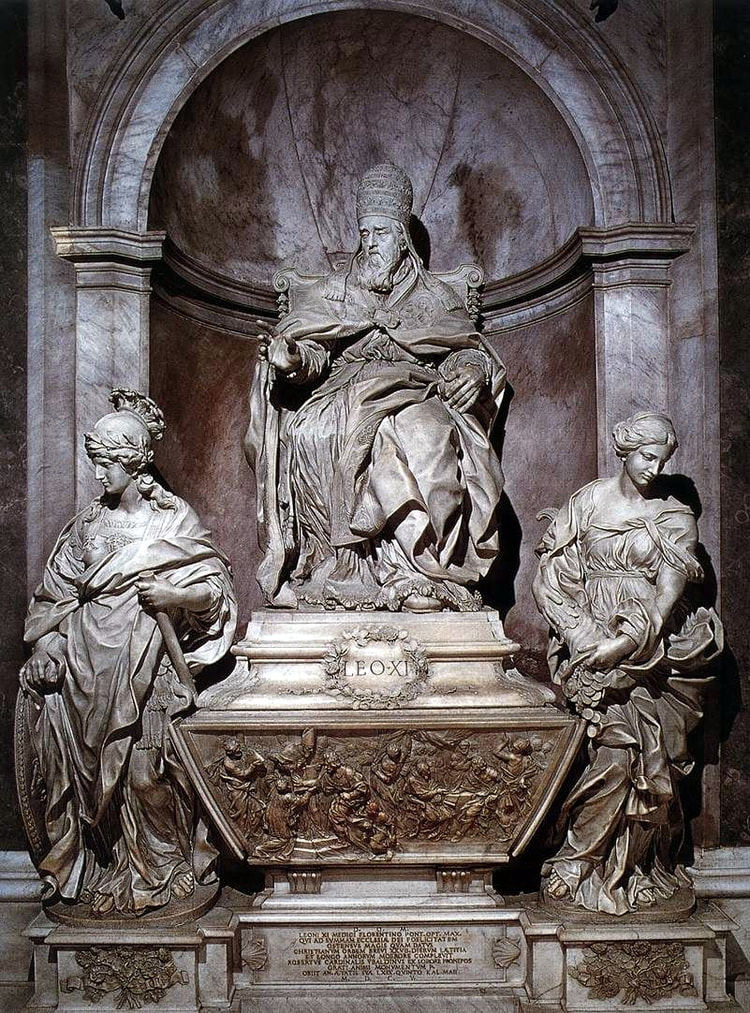 funerary-monument-of-pope-leo-xl-st-peter-s-basilica-rome