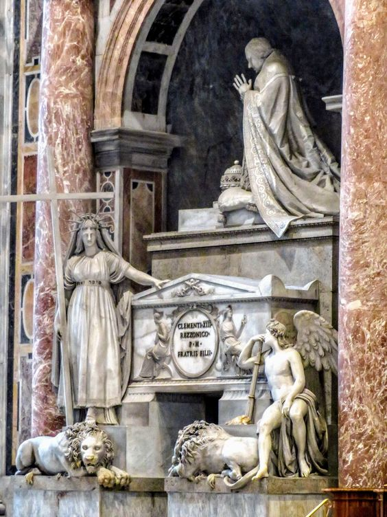 Monument to Pope Clement XIII, St Peter's Basilica, Rome
