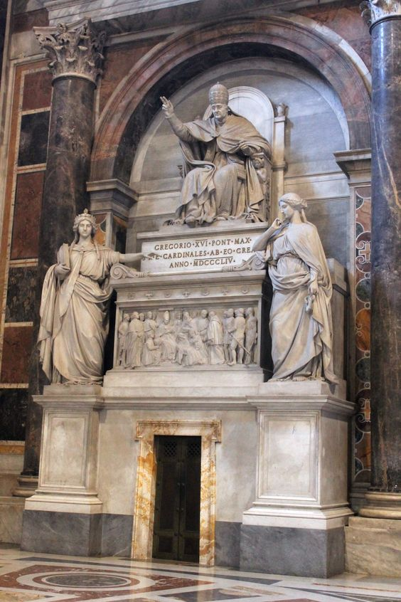 Monument to Pope Gregory XIV, St Peter's Basilica, Rome