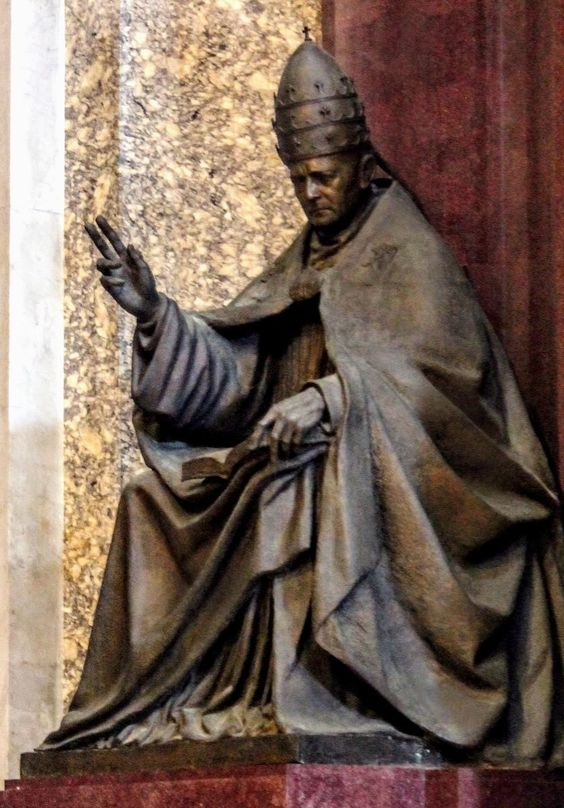 Monument to Pope Pius XI, St Peter's Basilica, Rome