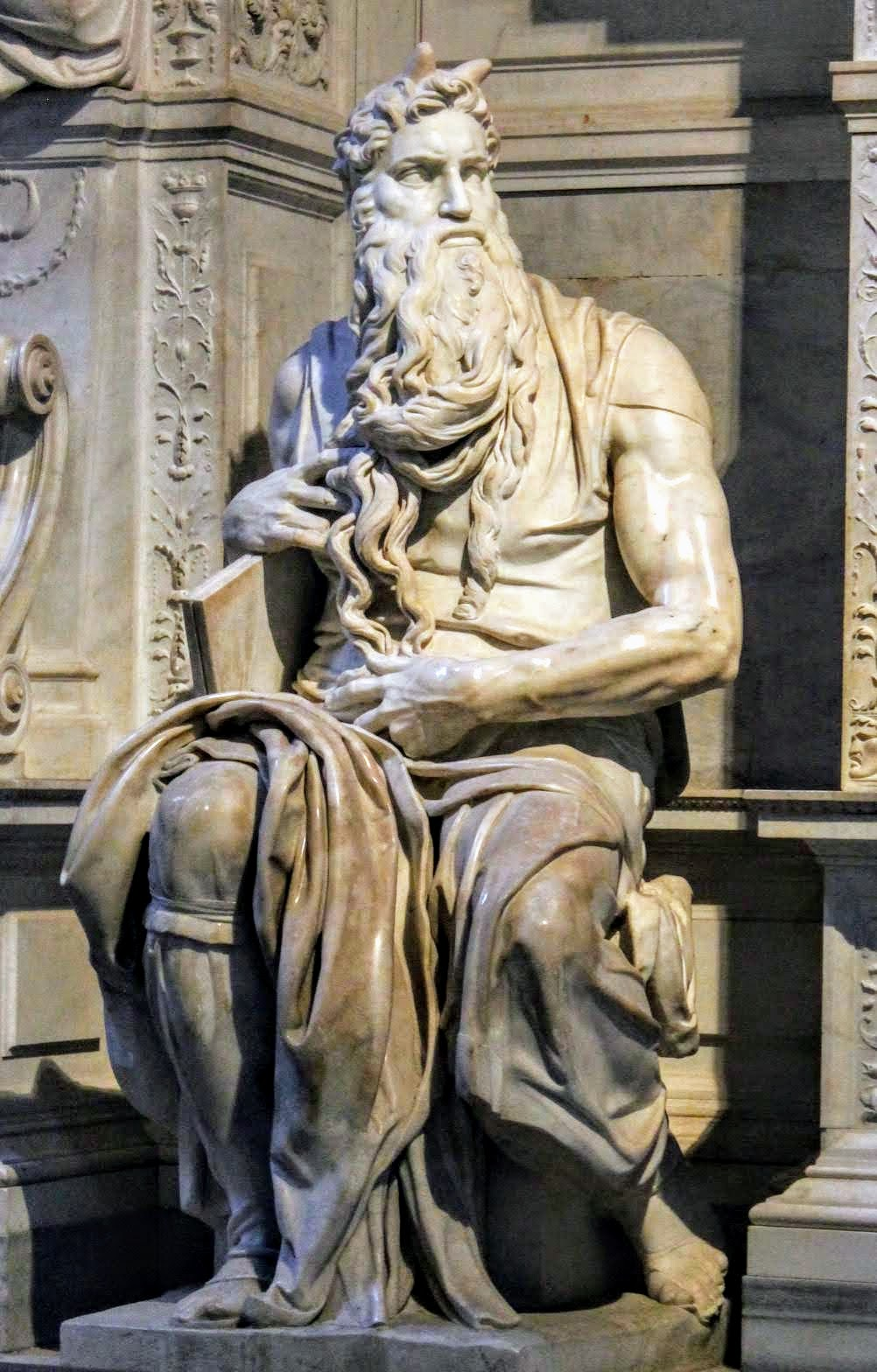 Moses by Michelangelo, San Pietro in Vincoli, Rome