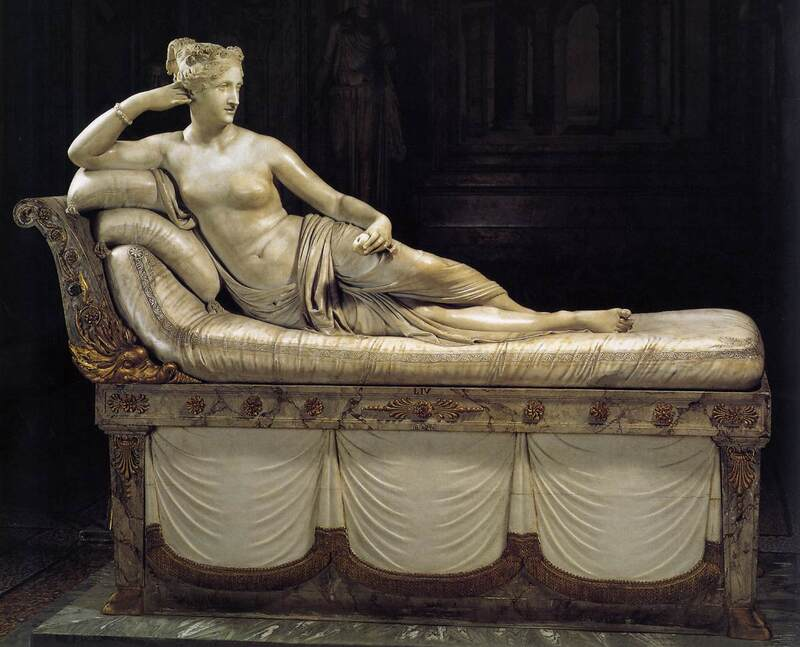 Pauline Borghese by Canova, Borghese Gallery, Rome