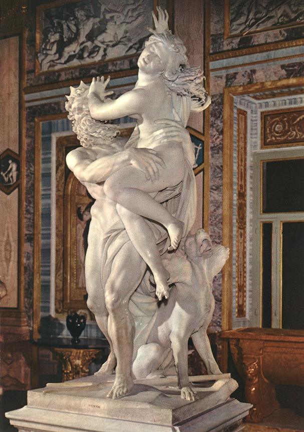 Pluto and Properpine by Bernini, Borghese Gallery, Rome