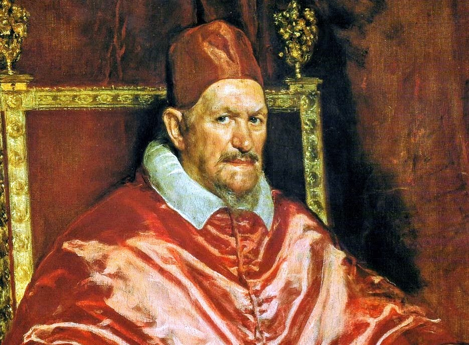 Pope Innocent X by Velazquez, Galleria Doria Pamphilj, Rome