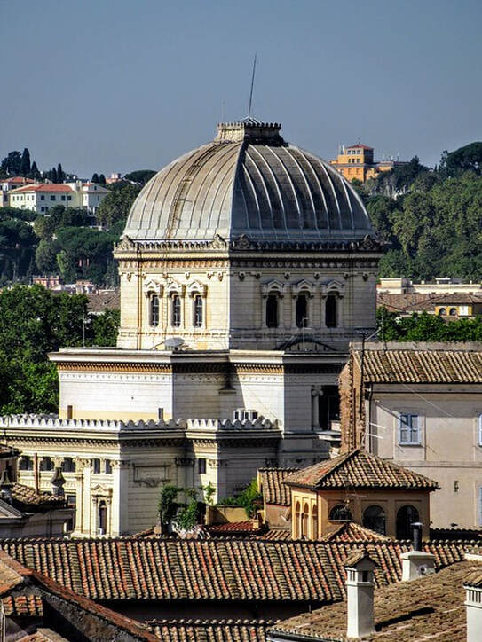 Dome of Great Synagogue of Rome
