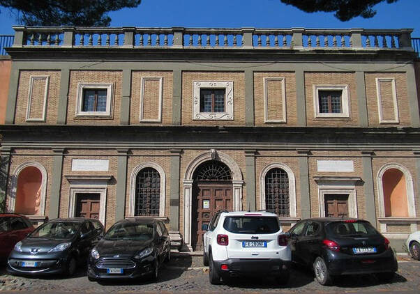 Facade of Michelangelo's House, Rome