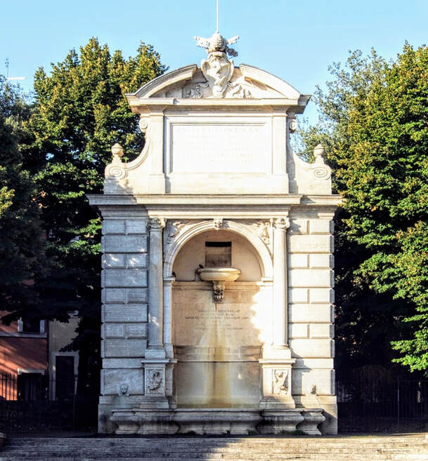 Fountain of Ponte Sisto, Piazza Trilussa, Rome