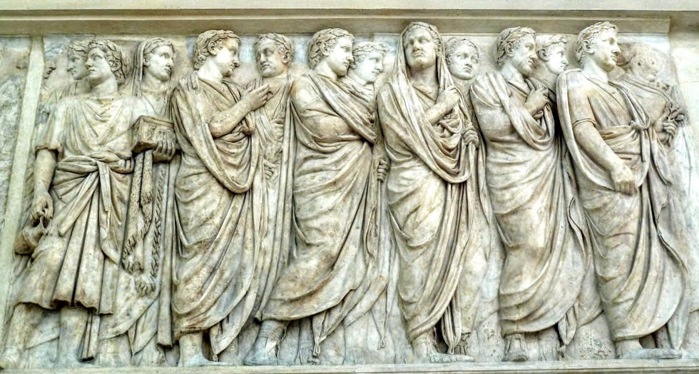 Relief of the Ara Pacis, Rome