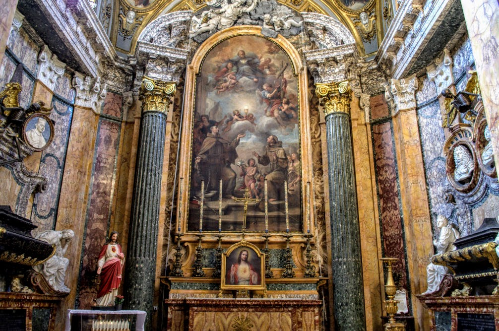 Rospigliosi-Pallavicini Chapel, church of San Francesco a Ripa, Rome