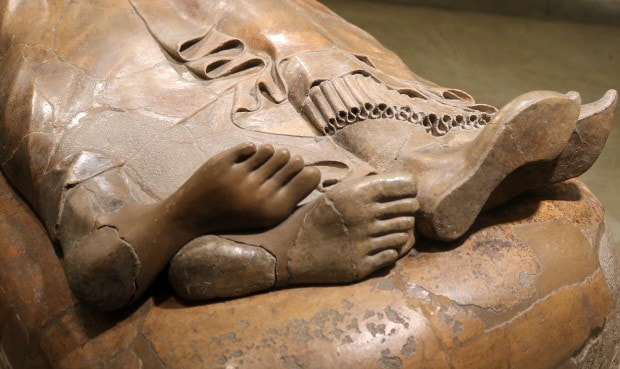 Sarcophagus of the Spouses, National Etruscan Museum, Rome
