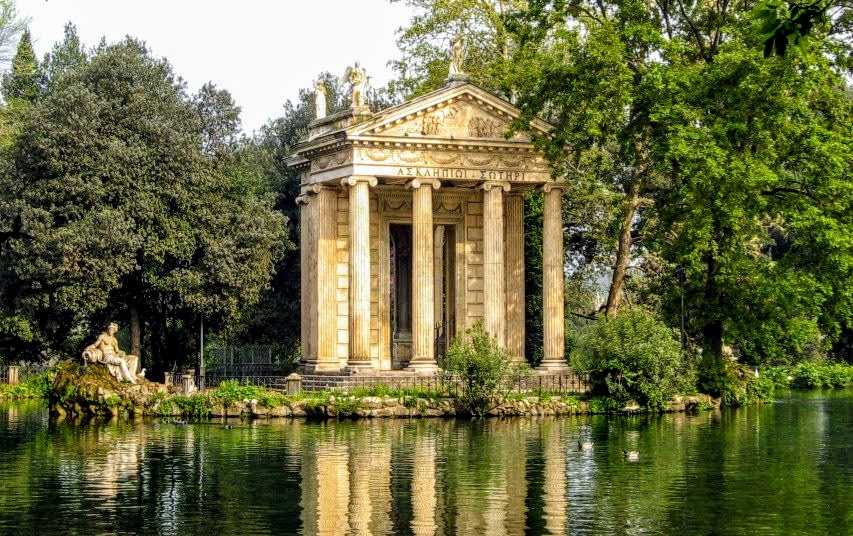 Temple of Aesculapius, Gardens of the Villa Borghese, Rome