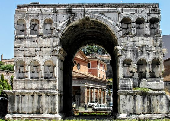 The 'Arch of Janus', Rome