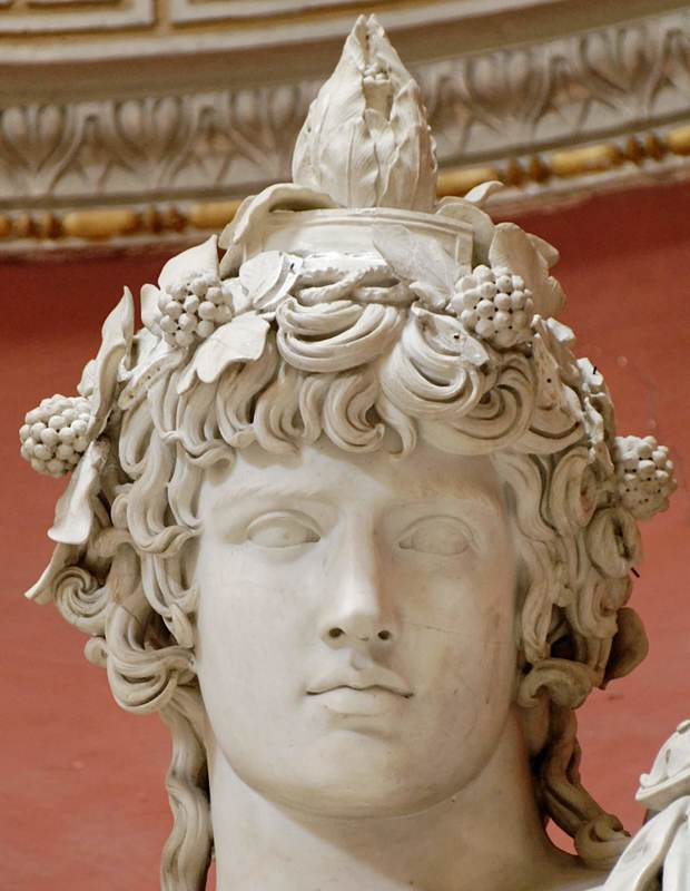 The 'Braschi Antinous', Vatican Museums, Rome