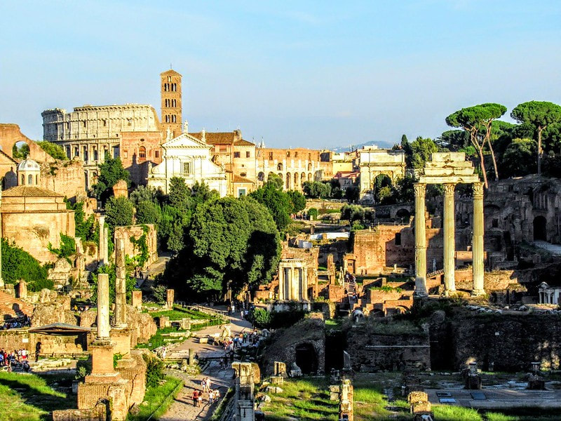 The Forum, Rome.