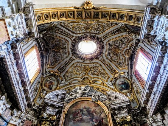 Vault of the Rospigliosi-Pallavicini Chapel, San Francesco a Ripa, Rome